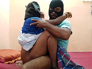 Indian wife rock-hard tear up with youthful husband