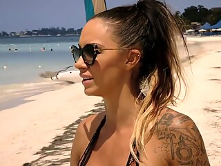 Jodie Marsh Huge Tits In Bikini