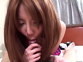 Hot Asian lady with a hairy cunt pleasing her nasty boyfriend