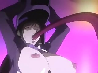(What's name of this anime?)Tentacle Fuck And Filthy Orgy On A Train