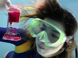 Japanese Underwater Scuba Modeling