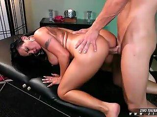 Mariah Milano gets a hardcore slammin from a hard cock