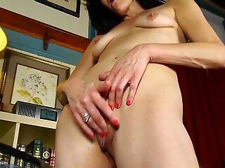 Amateur MILFs with wet soaking vaginas