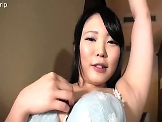 Asian POV tickle butt and upperbody