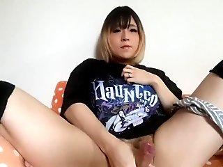 Japanese femboy crossdresser